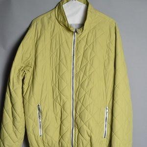 Scott James Pistachio Green Bomber Jacket
